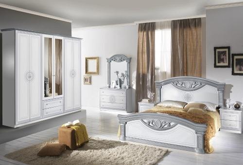 Dormitor Roma Bianco Silver