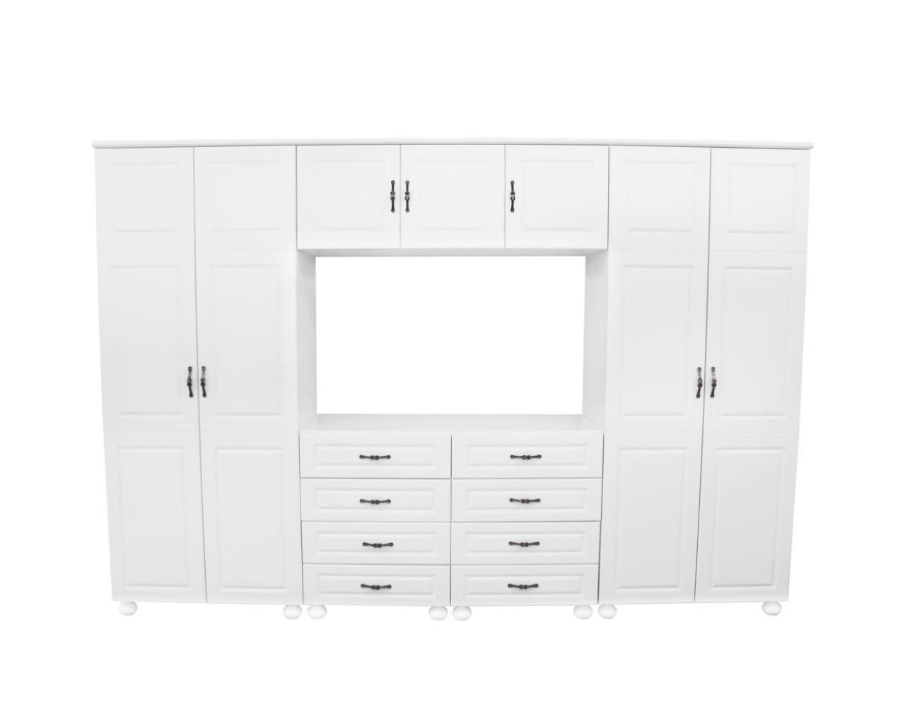 dulap-dynasty-dormitor-alb-7-usi-si-8-sertare-cu-spatiu-pentru-televizor-1280×1024